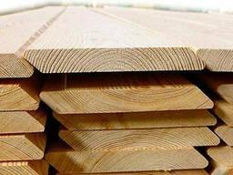 Планкен скошенный Лиственница, ромбус деревянный планкен