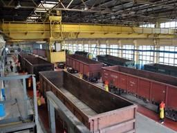 Плановий ремонт залізничних вагонів