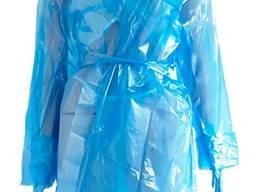 Плащ-дощовик поліетиленовий на зав'язках, 50 мкм (1 шт. )