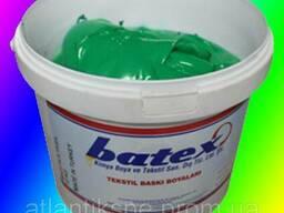Пластезольная краска Green зелёная