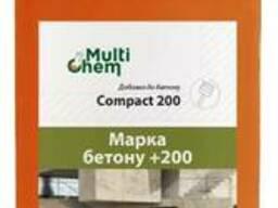 Пластификатор бетона, тротуарной плитки Compact 200. Для увеличения прочности, 1 л