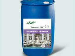 Пластификатор Compact 150 для бетона, гипса, тротуарной плитки, бочка 200 л