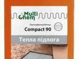 "Пластификатор ""Тёплый пол"" Compact 90 Euro для бетона, стяжки, 1 л"