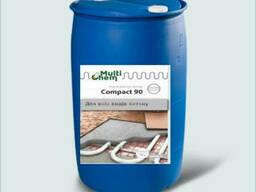 "Пластификатор ""Тёплый пол"" Compact 90 Euro для бетона, стяжки, бочка 200л"