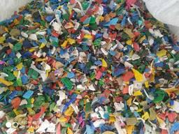 Пластик дробленый
