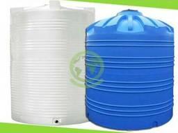 Пластиковая бочка на 10000 литров, емкость, бак