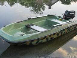 Пластиковая лодка БАРС 350