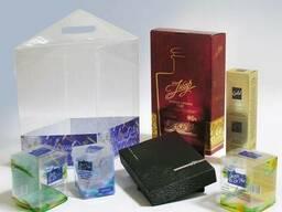 Подарочная и сувенирная упаковка, колбы сувенирные, тубусы