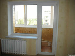 Пластиковое окно, дверь, балконный блок, балкон, лоджия