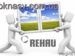 Пластиковое окно Rehau Ecosol 60 (4-16-4i) Axor. Кривой Рог.