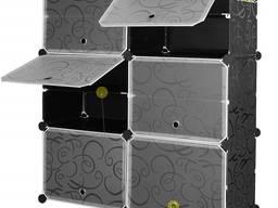 Пластиковый шкаф для обуви DIY Plastic Storage Cabinet