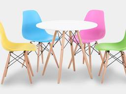 Пластиковый стул для кафе Тауэр Вуд