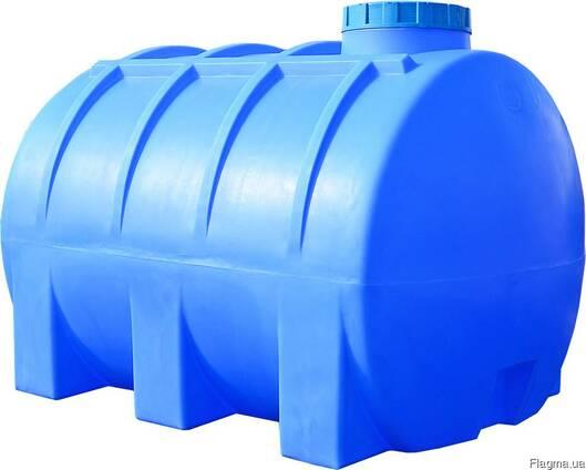 Пластиковые емкости большого объёма для хоз. и бытовых нужд
