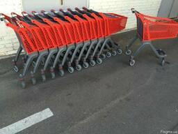 Купить Пластиковая покупательская тележка — P75 Urban