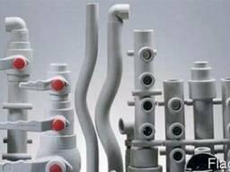 Пластиковые ПВХ трубы под пайку для водопровода и отопления