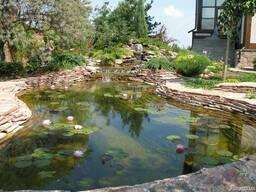 Пластиковые садовые пруды, Изготовление прудов - фото 6