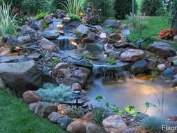 Пластиковые садовые пруды, Изготовление прудов - фото 7