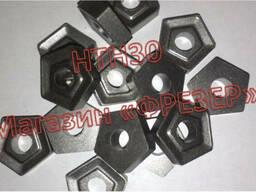 Пластина 10114-110408 пятигранная НТН30 (аналог Т30К4)