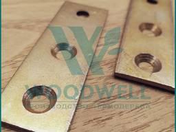 Пластина - Крепеж для фасадной доски и террасной доски