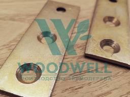 Пластина - Крепеж для фасадной доски и террасной доски - Техпластина