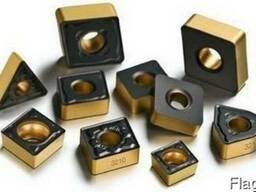 Пластины сменные твердосплавные для токарных державок (ISO)