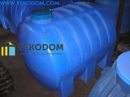 Горизонтальные пластиковые накопительные емкости для воды