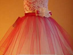 Платье детское нарядное Кокетка