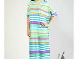 Платье Квадрат в полоску оптом