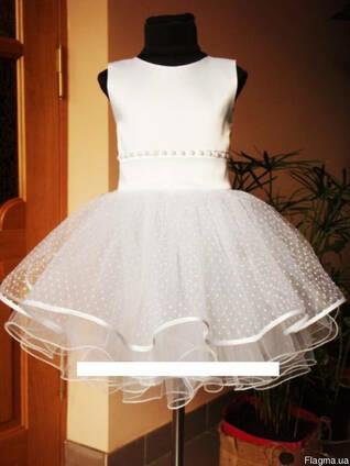 80cdda255f8 Платье нарядное детское Снежинка! цена
