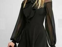 Платье женское c шифоном