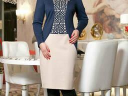 Платье женское с перфорацией (52-58), доставка по Украине