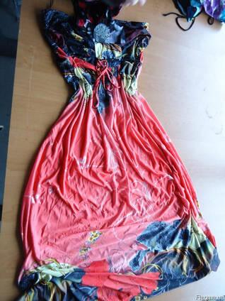 Платья, сарафаны микс. Секонд хенд крем сорт новые. Англия. Н