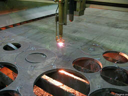 Плазменная резка металла, плазменный раскрой металла