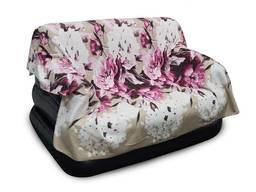 Плед флисовый Цветы 210*180 см.