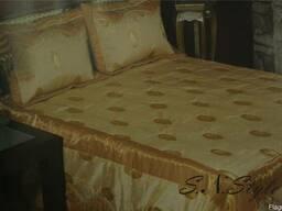 Плед, покрывало комплект на кровать.