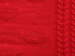 Плед Valentin червоний 130х170 SKL58-252236