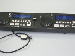 Плеер Gemini CDX-02G Professional Dual Deck Karaoke (панель)