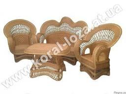 """Плетеная мебель из лозы """"Королевская"""" 1211-34"""