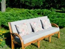 Плетеная мебель из лозы, ротанга, абаки