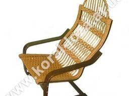 Плетеное Кресло-качалка из лозы 1267т-34