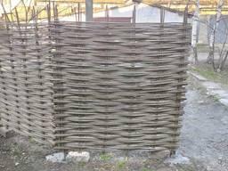 Плетёный Забор 1, 5х1, 5м