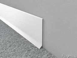 Плинтус алюминий белый Profilpas Metal Line 90, Италия