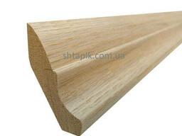 Плінтус дерев'яний 35х50х3000 мм Дуб