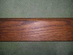 Плинтус дубовый цельный 60, 80-200 мм. Красим, тонируем,