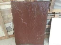 Плита 900*600*30 , натуральный , камень , коричневый цвет