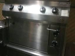 Плита б/у 4 конфорки с духовкой МКN