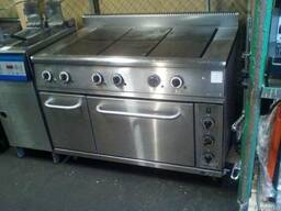 Плита б/в Рада 6 конфорок духовка для їдальні