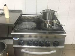 Плита для кухни профессиональная Tecnoinox Италия. Плита эле