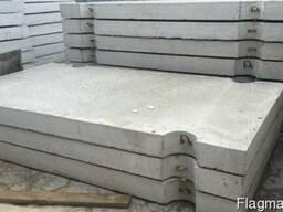 Плита дорожная из тяжелого бетона ПДН-18 6000х2000х180