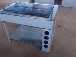 Плита электрическая 4х конфорочная